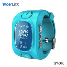 Wonlex Kids GPS Tracker Watch Wearable Devices LBS GPS WIFI Triple Positioning Android IOS Watch Phone GW300 Side SIM Slot