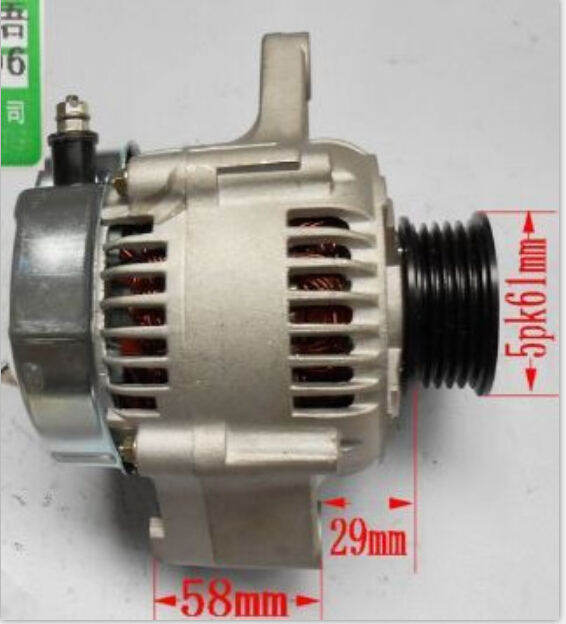 AUTO ALTERNATOR/ GENERATOR FOR M13A M15A SUZUKI - JIMNY / SWIFT OEM:31400-80G01 1022112600 LRA02270 12V<br><br>Aliexpress