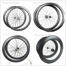 Pillar 1420 lignht spoke bicycle dimple carbon wheelset taiwan bycicle 58mm carbon clincher trathlon 700c wheels(China)