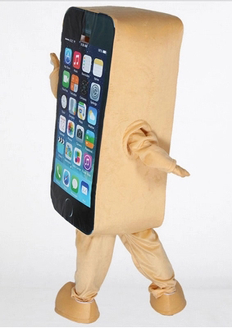 2014Hot-sale-Mascot-Costume-Cell-Phone-Apple-iPhone-5C-Adult-Size (3)