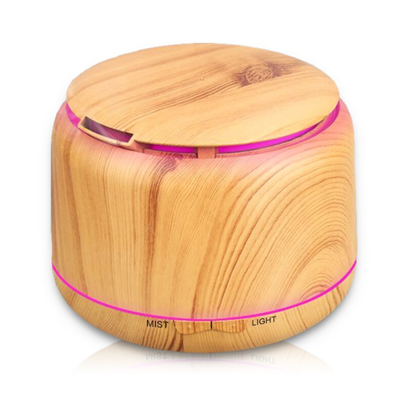 250ml  Oil Diffuse Wood Grain Cool Mist Humidifier Ultrasonic Aroma Essential for Home Office Bedroom Living Room Study Yoga Spa<br>
