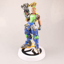 Love Thank You OW Over game watch Overwatches Lucio 28cm PVC Anime figure toy Model gift new