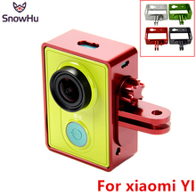 Buy SnowHu Xiaomi Yi CNC Aluminum Alloy Protective Frame Case/Bracket + Screw + O-rings Xiaomi Yi Sports Action Camera YX223 for $12.42 in AliExpress store