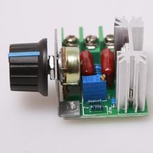 2pcFree Shipping Retail 50~220 V 2000W PWM AC Stepper Motor Speed Controller Knob tb6560 tb6600 CNC Kit