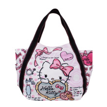 Designer Handbags High Quality Fashion Cartoon Hello Kitty Crossbody Bags For Women Leather Handbags Evening Clutch Bags Boston(China)