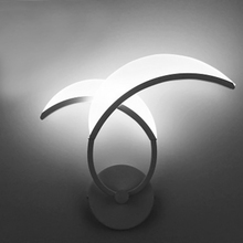 Modern Acrylic White/Warm White LED Wall Lamps Sconces Flower Wall Lamps Bedroom Dining Room Kitchen Indoor Lighting Fixtuers(China)