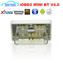 2017 New Design XTool iOBD2 MINI Bluetooth V4.0 For iOS/Android EOBD2/iOBD2 Bluetooth Works Cars From 1996 Better Than ELM327