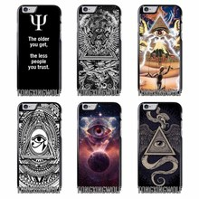 Dont Trust Anyone Triangle Pyramid Cover Case For Samsung S4 S5 S6 S7 S8 Eege Plus Note 2 3 4 5 8 for Huawei P8 P9 P10 Lite 2017(China)