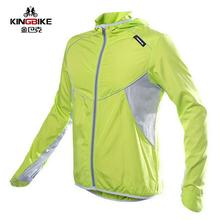 King Bike Cycling Men's Women Riding Reflective Jersey Downhill Cycle Clothing Long Sleeve Wind Jacket Jerseys