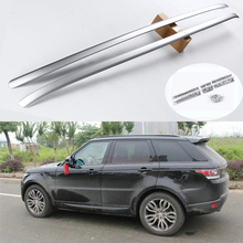 For Land Rover Range Rover Sport 2014-2017 Roof Rack Rails Bar Luggage Carrier Bars top Racks Rail Boxes Aluminum alloy(China)