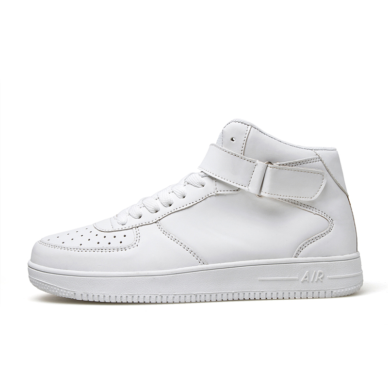 fall men high to help sport shoes white British st...