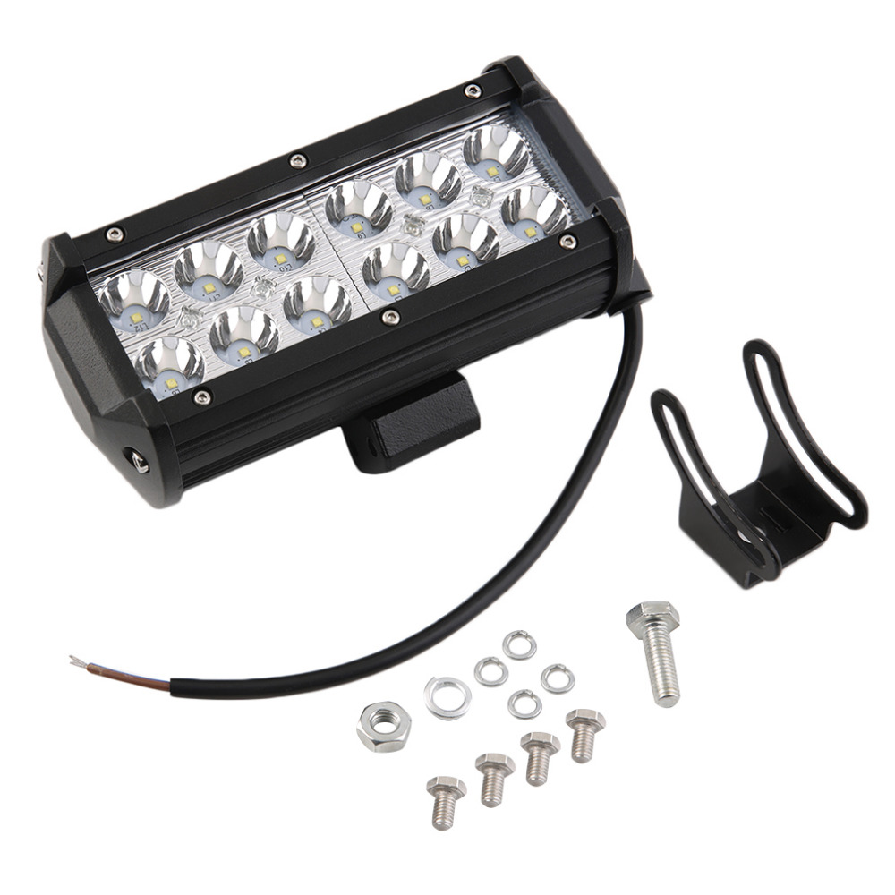 1pc 36W 12 LED Bar Spot Work Light for Offroad Boat ATV SUV Fog Driving Free Shipping<br><br>Aliexpress