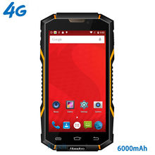 "original Huadoo HG06 IP68 Rugged Waterproof Phone 4G LTE Smartphone Android Shockproof Mobile phone 6000mAH MTK6735 5.0"" GPS NFC"