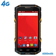 "original Huadoo HG06 IP68 Rugged Waterproof Phone 4G LTE Smartphone Android Shockproof Mobile phone 6000mAH MTK6735 5.0"" GPS NFC(China)"