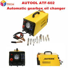 Original AUTOOL ATF602 12V Auto Gearbox Oil Exchange Cleaning Machine ATF-602 Car Automatic Transmission Fluid Exchanger ATF602