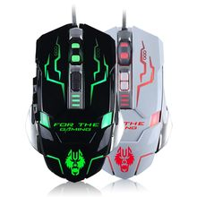 brand Pc x7 USB computer Wired mouse pc notebook 3200DPI gaming mouse for Dota2 cs optical mouse games mause sem fio Snigir MICE(China)