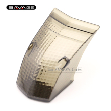 For YAMAHA XT660 XT660R XT660X 2004-2014 Motorcycle Accessories Rear Taillight Tail Glass Lamp Lens Cover Smoke(China)