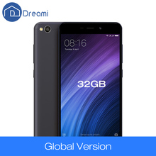 Dreami Original Global Version Xiaomi Redmi 4A 2GB RAM 32GB ROM Snapdragon 425 Quad Core 5.0 Inch 3120mAh 13MP Cellphone 4 A