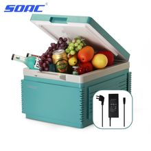 12V Car Cooler Auto Refrigerator 12L Small Portable Mini Fridge Hot and Cold Double Use Travel Fridge FR-122CP