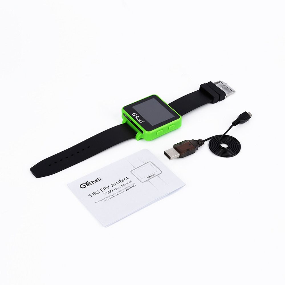1pcs GTeng T909 FPV Watch Receiver 5.8Ghz 32 Ch Real-time video for quad and drone<br>