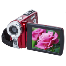 HD 720P Popular Travel Portable 20MP 16x Zoom Digital Video Camera Electronic Anti-Shaking Camcorder DV Red