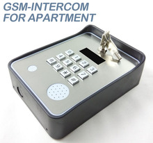 GSM remote control INTERCOM+KEYPAD-ENTRY SYSTEM GATE AUTOMATION WIRELESS-OPEN GATES & DOORS FROM MOBILE PHONE