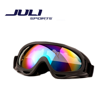 2016 Professional Ski Goggles Single Lens Anti-Fog Windproof High Quality Skiing Glasses Outdoor Climbing Riding Goggles X400A
