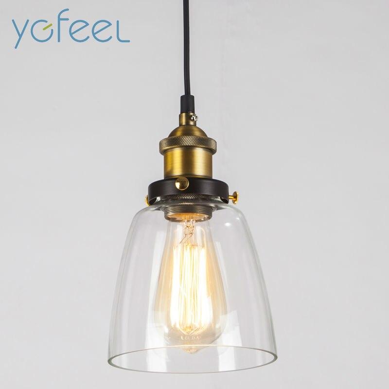 [YGFEEL] Pendant Lights American Country Retro Pendant Lamp E27 Holder AC90-260V Loft  Bar Vintage Single-head Industrial Light<br>
