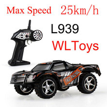 Amazing WLtoys L939 High Speed 2.4G mini RC Car Drift Car 5 Level Speed Shift Full Proportional Steering Remote Control Toys(China)