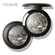 FOCALLURE Professional 10 Colors Baked Eye Shadow Eyeshadow Eye Makeup Beauty Glitter Shimmer