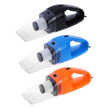 120W 12V hand Car Vacuum Cleaner Super Wet And Dry Dual-Use Handheld portable dust Cigarette Lighter Filter black orange blue