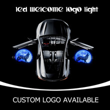 GOBO Door LED courtesy Light Projector Logo Puddle Lights Ghost Shadow For Wolf Moon-Wolverine For JEEP GMC Dodge CHRYSLER 1430