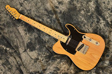 New Arrival Custom Shop Yellow Telecaster Guitar Vintage 52 Reissue Butterscotch Blonde Tele Electric Guitar