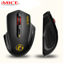 Ergonomics 2.4GHz Wireless Mouse USB 3.0 Receiver Optical Computer Mouse Power Saving Design Cordless Gaming Mice For PC Laptop(China)