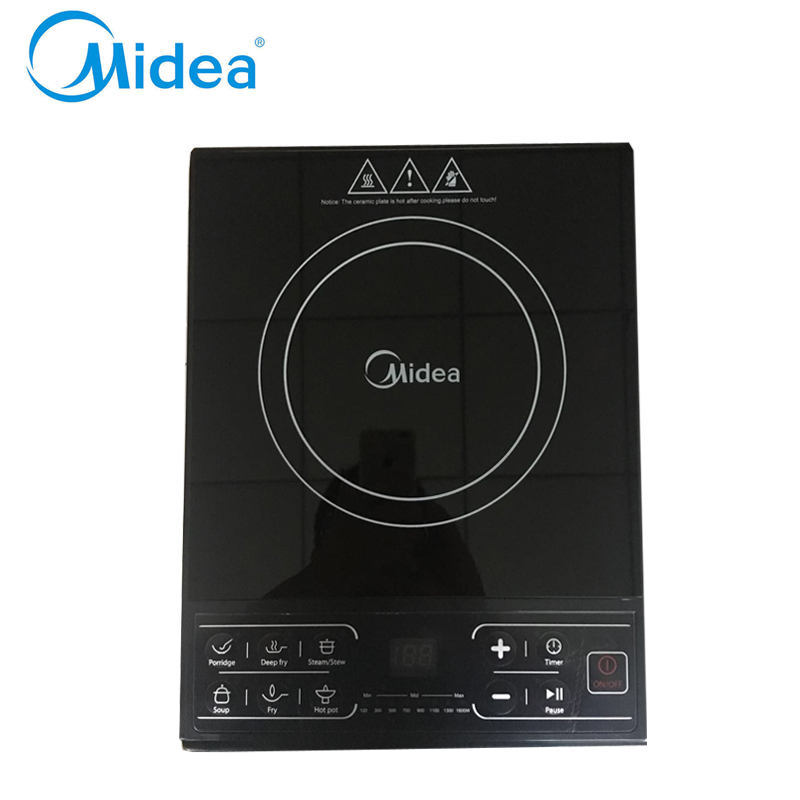 Midea electric induction cooker,SKY1615 touch control induction plate hotpot/Fry/cook induction cooking machine home appliances<br><br>Aliexpress