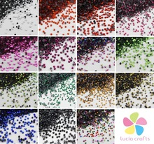 2mm multi colors options Rhinstones Flatback Hot Fix Stones DIY Garment/Bag/Shoes Crafts 1440pcs/lot 063005043(China)