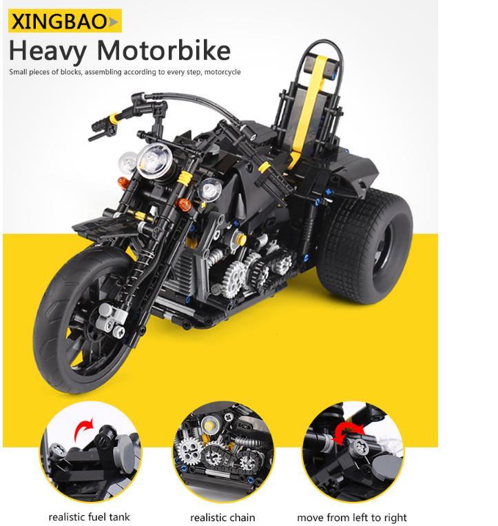 Xingbao XB-03020 Harley Davidson Motorcycle Building Block 25