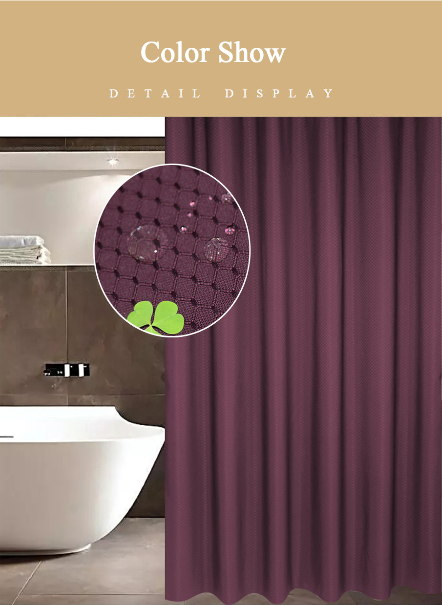 Shower Curtain Honeycomb for HomeHotel 13