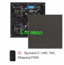 Coreman SMD P6 RGB LED module 1/16 Scan,Semi-outdoor full color LED display panel,Customized P5 P6 indoor full color led module