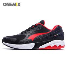 Onemix Mens Discount Running Shoes Online Trail Sport Athletic Sneaker Man Air Cushion Walking Runner Trainers 6 Colors(China)