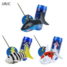 JJR/C Mini Remote Control Toys Funny Animal RC Shark Fish Flying Air Water Game Radio Toys For Kids Boys Gift