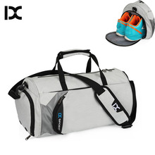 Men Gym Bags For Training Waterproof Basketball Fitness Women Outdoor Sports Football Bag With independent Shoes Storage XA103WA(China)