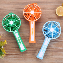 NEWGAIN Mini usb hand fan cooling portable fan led light air conditioner cooler adjustable speed heat fans