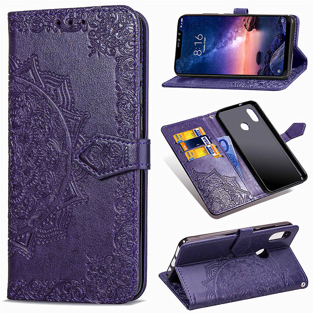 Xiaomi Redmi Note 6 Pro Case Flip Leather Wallet Case Card Holder Phone Coque Capa Xiaomi Redmi Note 6 Pro Book Cover