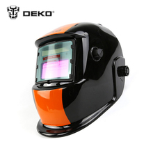 DEKOPRO Orange S Solar Auto Darkening MIG MMA Electric Welding Mask Welding Helmet Welder Cap Welding Lens for Welding Machine