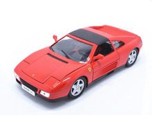 Maisto Bburago 1:18 348 348ts Red Diecast Model Car Toy New In Box Free Shipping