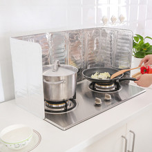 Practical Splatter Screens Kitchen Stove Foil Plate Prevent Oil Splash Cooking Baffle Easy Clean Kitchen Tool(China)