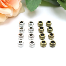 Jewelry finding & components parts Alloy parts Bronze beads insulation Tibetan silver small lantern accessories diy TP2154(China)