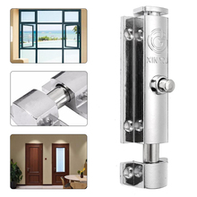 4'' Door Window Security Bolt Button Open Spring Lock Latch Wood Box Cabinet Bolt Furniture Hardware Mayitr
