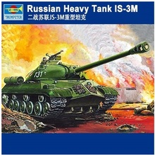 NIDALE model Free shipping Plastic Model Kit Trumpeter 00316 1/35 Russian Heavy Tank IS-3M(China)